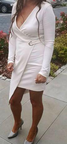 Sukienka biała rozmiar XS