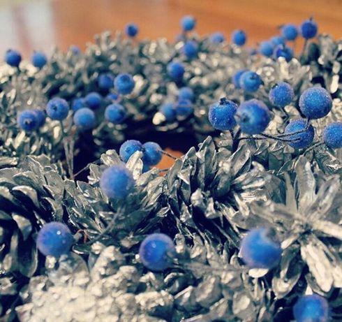Рождественский венок (ручная работа)/ Різдвяний вінок