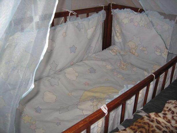 Комплект в детскую кроватку , держатель в подарок
