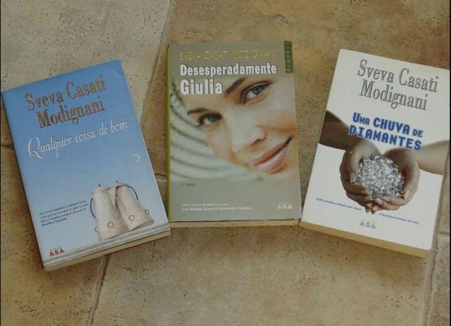 3 Livros de conceituada escritora