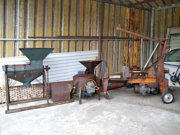 Conjunto de máquinas agrícolas
