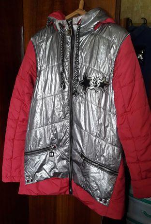 Курточка-трансформер  весна- осень на девочку