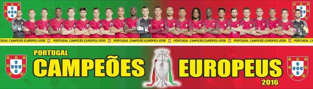 Cachecol Portugal CAMPEÕES EUROPEUS