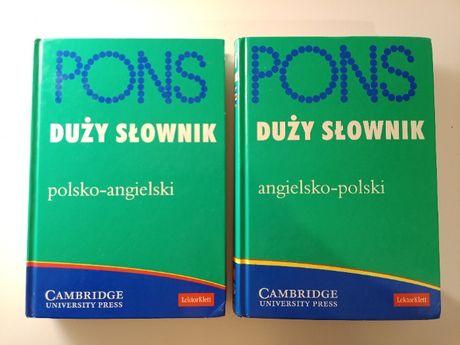 PONS słownik polsko-angielski, angielsko-polski