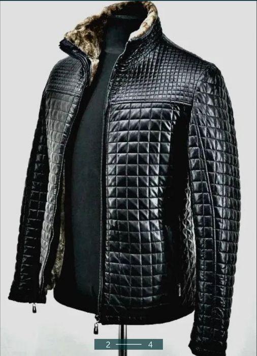 Куртка эко кожа на меху зимняя Киев - изображение 1