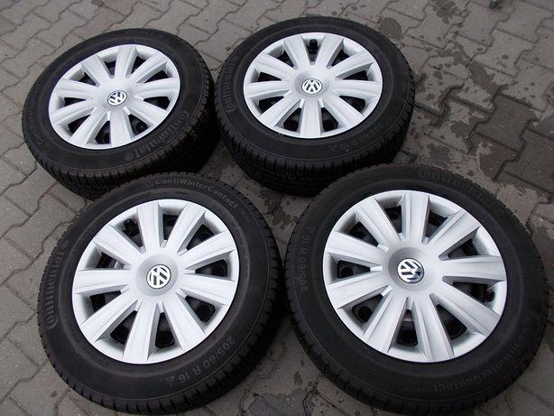 Opony zimowe z felgami 5x112 6,5Jx16H2 VW, AUDI (K15)