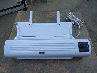 Maquina de plastificar documentos ou outros A3 - 300 Watts
