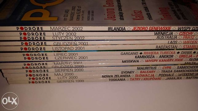 Podróże-czasopisma