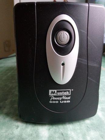 Источник бесперебойного питания Mustek PowerMust 600 USB