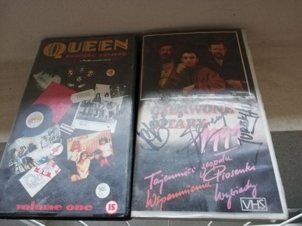 Kasety VHS Queen