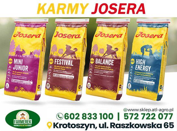 JOSERA  karma sucha dla psów,różne rodzaje/wysyłka już od 12zł/