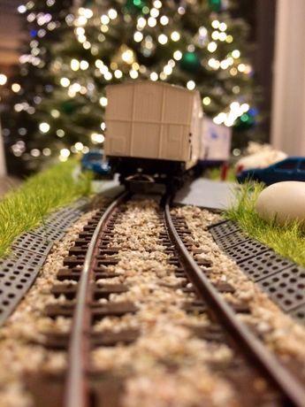 diorama kolejowa h0, 1:87, piko, roco, ekspozytor