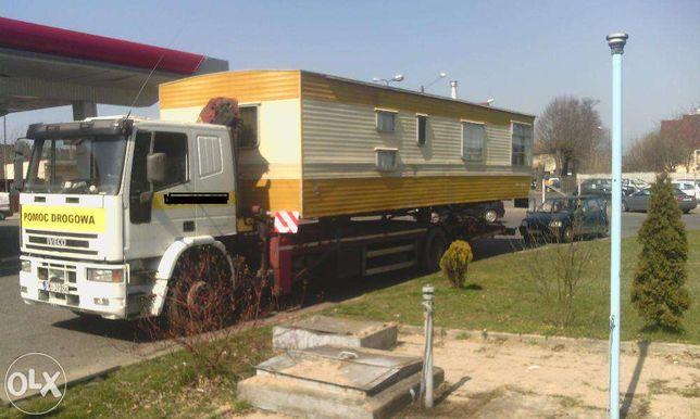Transport domków kempingowych lubuskie Pomoc drogowa lubuskie