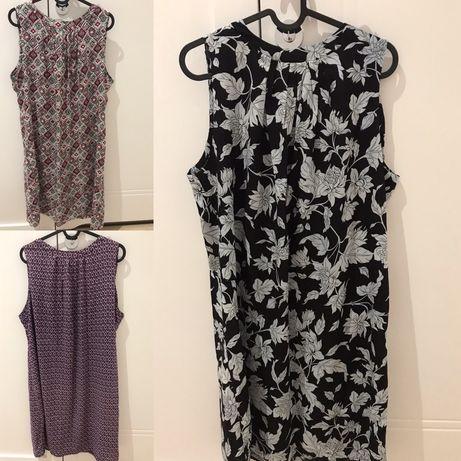Piękne włoskie sukienki, rozmiar L, stan idealny