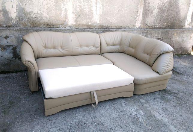 Кожаный Диван Раскладной, Мягкая мебель, Кожаная мебель. ДОСТАВКА!