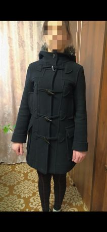 Чёрное Женское пальто