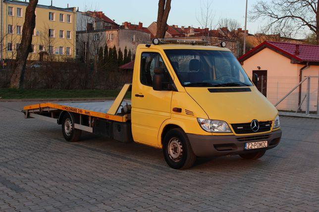 Autolaweta laweta najazd pomoc drogowa Sprinter 316 2.7 cdi alu