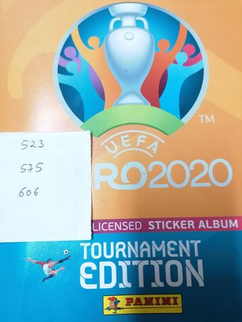 Cromos Euro 2020 - faltam apenas 3 cromos