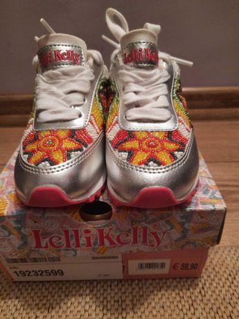 Nowe buty dziewczęce sneakersy Lilli Kelly rozm 27 ozdobne koraliki