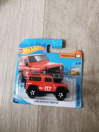 Hotwheels Land Rover Defender 90