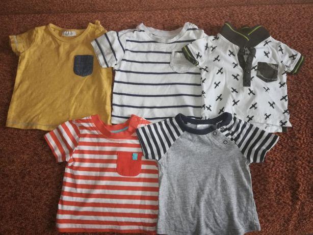 Bluzeczki na lato 0-3 miesięcy