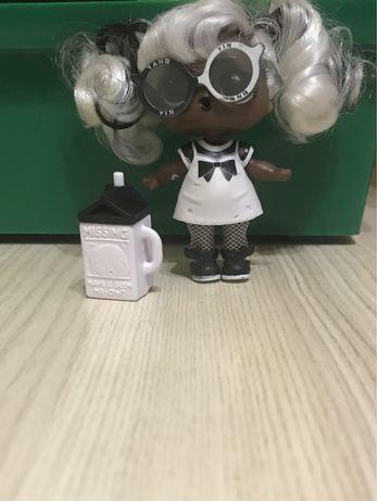 Продам куколку лол с настоящими волосами