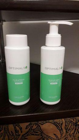 Матирующий тоник и гель для жирной кожи Optimals Hydra