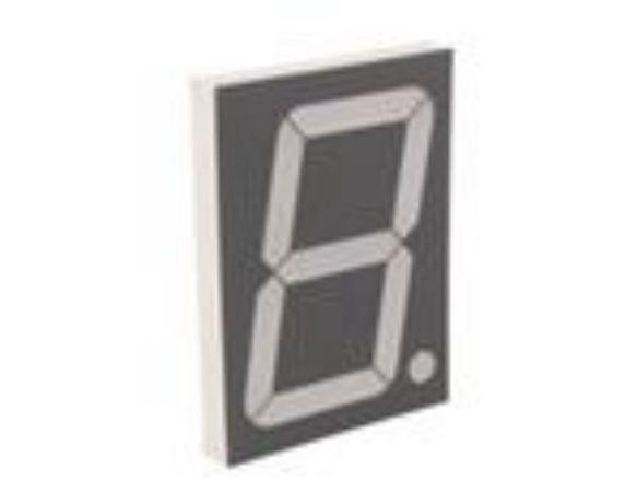 4 Displays 7 segmentos 10cm Catódo comum
