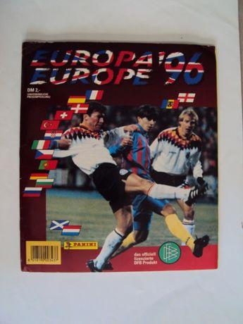 Caderneta EURO 96 - Panini (edição alemã)