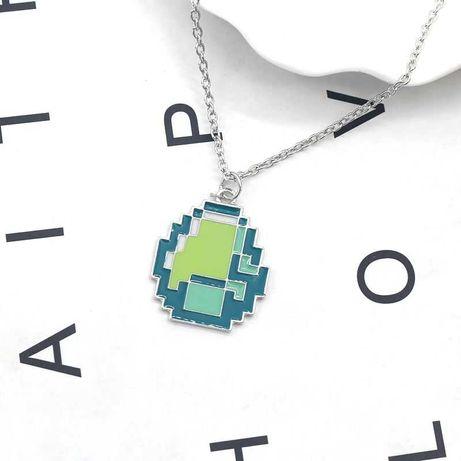 Кулон Алмаз из Майнкрафта (Minecraft) руда стальная драгоценность