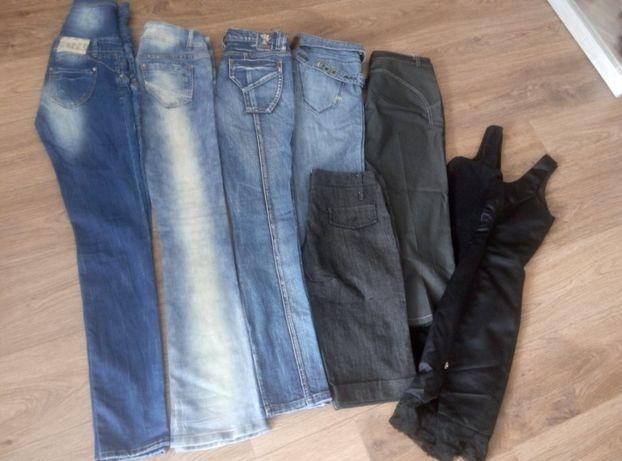 12 zł szt. Spodnie r.S/M +czarna sukienka