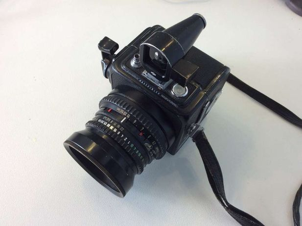 Hassleblad Super wide C (SWC) com lente Carl Zeiss 38mm Biogon