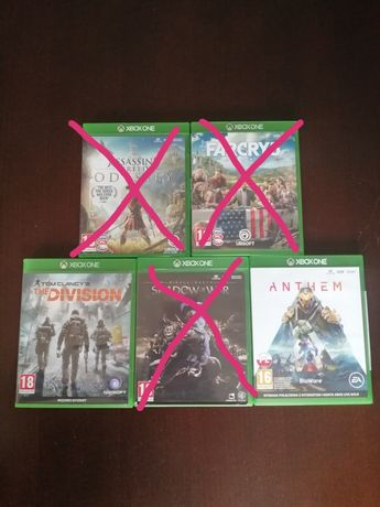 Gry na konsole Xbox One