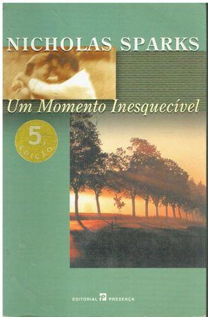 2547 Um Momento Inesquecível de Nicholas Sparks