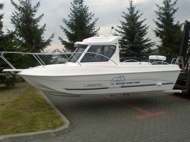 Formy do produkcji łodzi kabinowej Week-end 550