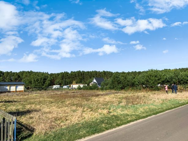 Działka budowlana 1468m² Chojno-Wieś, 70 km Poznań
