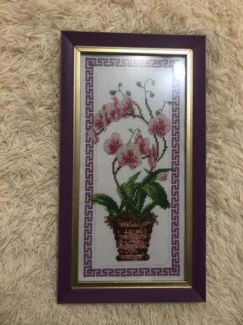 Картина «орхідея»