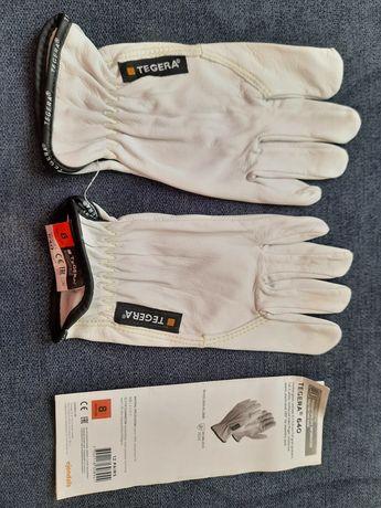 Skórzane rękawice robocze Ejendals Tegera 640 rozmiar 8