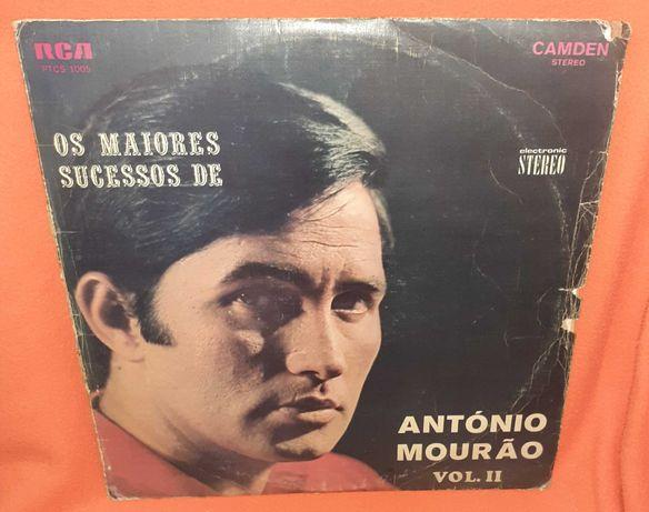 DISCO Vinil - Os Maiores Sucessos de Antonio Mourão