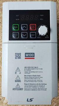 FALOWNIK LG M100 - LSLV0008M100-1EOFNA P: 0,75KW, U: 1X230V, OKAZJA