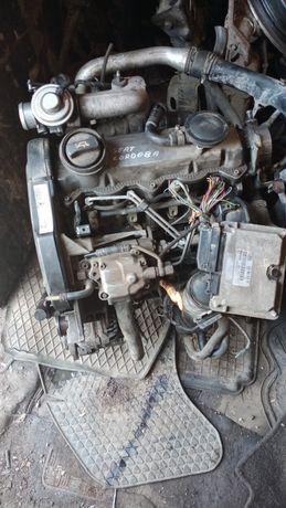 Мотор ASV 1.9 ТДІ 81 кВт кордоба Октавія гольф 4 Леон Бора розборка