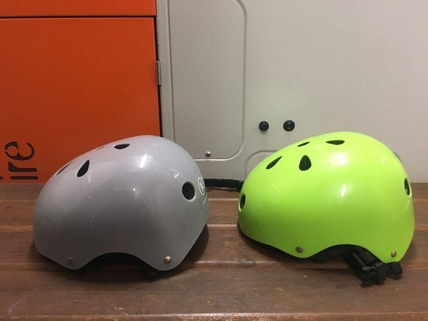 Kask dzieciecy na rower lub wrotki