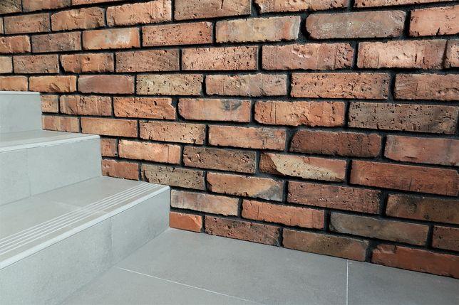 Stara cegła LOFT płytki ceglane ręcznie cięte cegły RETRO Krzeszowice