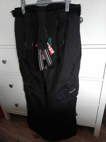 spodnie damskie narciarskie XXL 44 Campus SYBILLA nowe RECCO czarne