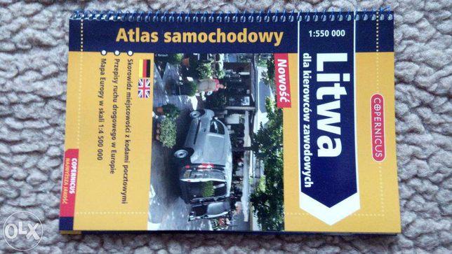 Atlas Litwa dla wybierających się w podróż i nie tylko