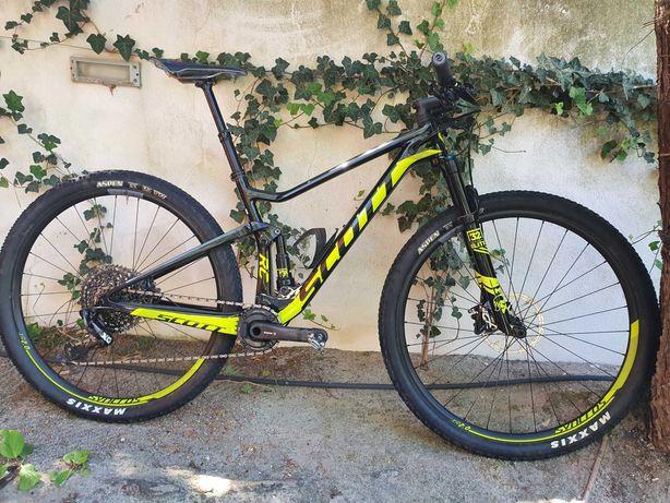 BTT Scott Spark RC 900 Pro Bike M 2018 com Powermeter Power2max Ngeco