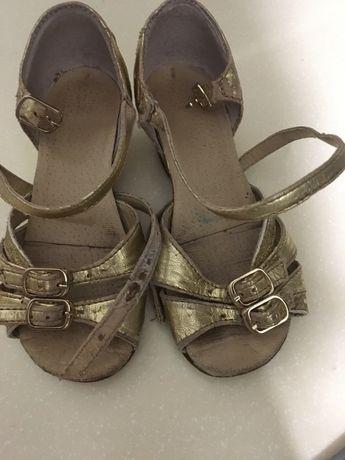 Тренировочные бальные туфли туфельки 16-16,5 см