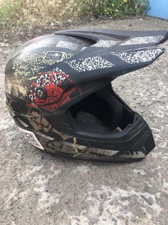 Шлем эндуро/мотокросс детский