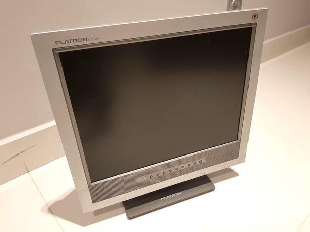 Monitor LCD płaski LG Flatron L1510M LM505J-GL zgrabny kompaktowy KRK