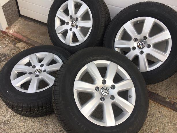 """FABRYCZNIE NOWE OPONY Oryginalne Felgi Koła 17"""" Volkswagen VW Touareg"""